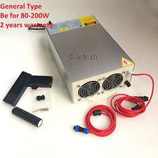 CO2 laser power Supply 220V for 80W to 200W Tube 100W, 130W,150W General Type