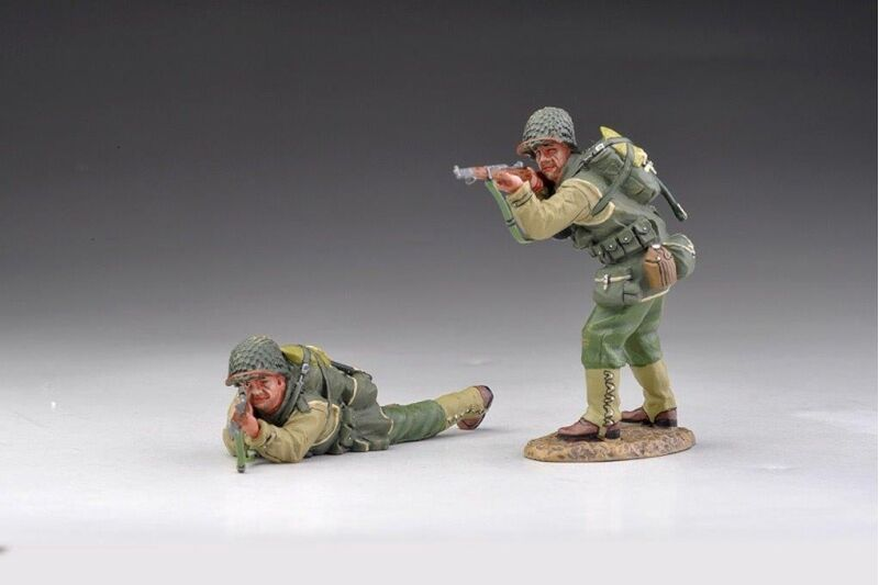 THOMAS GUNN USA002B   RANGERS WITH RIFLES DRY LOOK