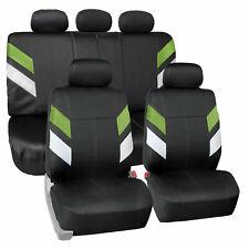 Auto Seat Covers Neoprene Waterproof For Auto Car Suv Van Full Set Green Fits Jeep Cherokee