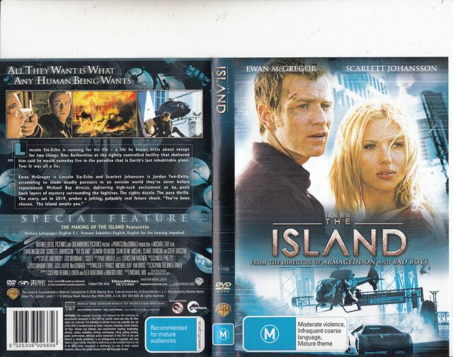 The Island-2005-Ewan McGregor-Movie-DVD