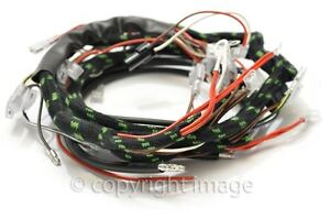 triumph t120 tr6 t100 wiring harness 1969 70 uk made great qualityimage is loading triumph t120 tr6 t100 wiring harness 1969 70