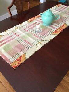 Cool Table Runner Plaid Abstract 52 X 18 Lined Farmhouse Download Free Architecture Designs Remcamadebymaigaardcom