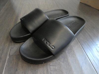 2936719154f5 Polo Ralph Lauren Cayson Slide slides shoes new size 15 mens sandals black