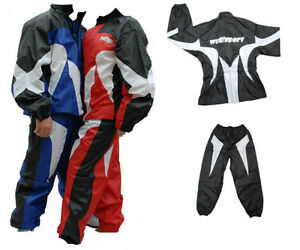 Wulfsport-Waterproof-Oversuit-Rain-Enduro-Motocross-Trials-Trousers-Jacket-Set