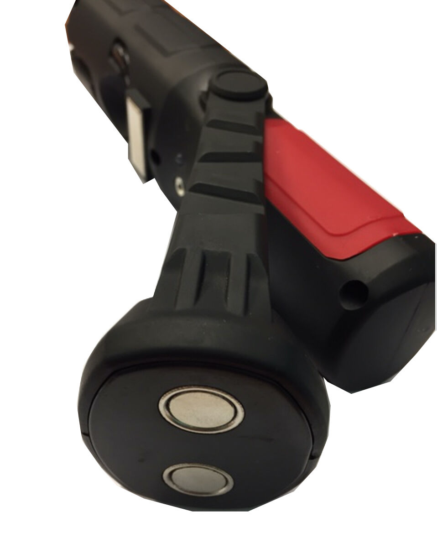 Top qualité sans fil magnétique magnétique magnétique 5W+1W led inspection lampe torche camping travail léger a90a01