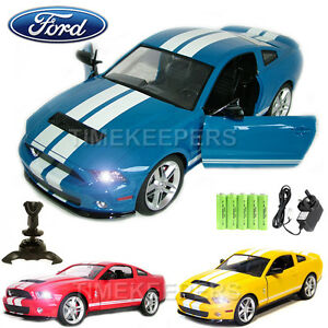 Image is loading 1-14-Official-Licenced-Ford-Mustang-Shelby-GT500-  sc 1 st  eBay & 1:14 Official Licenced Ford Mustang Shelby GT500 RC Radio Remote ... markmcfarlin.com