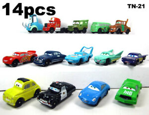 NEW MODEL 14//PC PIXAR CARS BOYS GIRLS TOYS BIRTHDAY CAKE TOPPERS GIFTS PRESENTS.