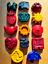 emojis /& autres formes dinosaures lettres licornes Fait Main Nouveauté Cire Crayon