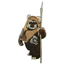 Ewok Iron-On Applique Star Wars Character DIY Fan Craft Project Accessory Patch