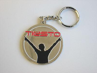 Rare Metal Logo Keyring Dance Trance//House CLUBWEAR Key Ring NEW DJ TIESTO