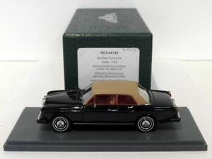 NEO-1-43-scala-del-modello-in-resina-NEO44146-Bentley-Corniche-Nero-Beige