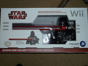 Nintendo wii u official sensor bar holder new star wars darth vader image is loading nintendo wii u official sensor bar holder new aloadofball