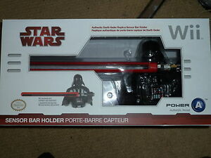 Nintendo wii u official sensor bar holder new star wars darth vader image is loading nintendo wii u official sensor bar holder new aloadofball Gallery