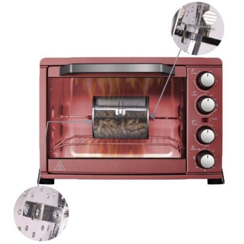 1X Air Fryer Rotisserie Oven Basket Kitchen Grill Roaster Rotating Mesh Basket⭐