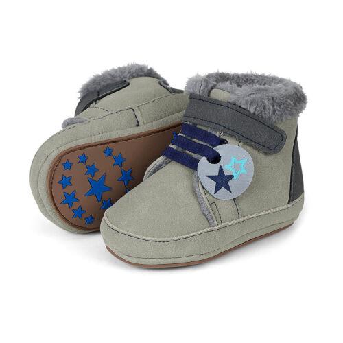 Sterntaler Baby-Schuhe warme Winterschuhe mit Plüschfell Klettverschluss