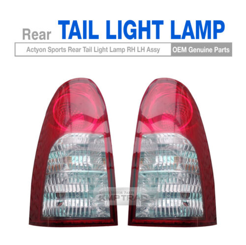 OEM Parts Rear Tail Light Lamp Assy RH LH for SSANGYONG 2007-2013 Actyon Sports