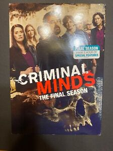 Criminal-Minds-The-Final-Season-DVD-Brand-New-Sealed-With-Slipcover