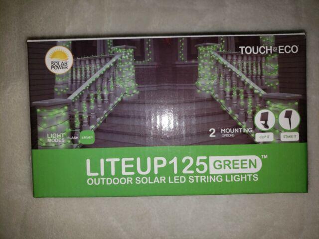 Outdoor Solar Led String Lights Hg3, Green Outdoor Led String Lights