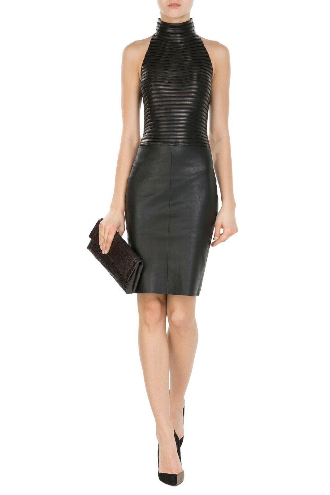 minikleid kleid satin ausschnitt rückenfrei h&m s 36 neu | ebay