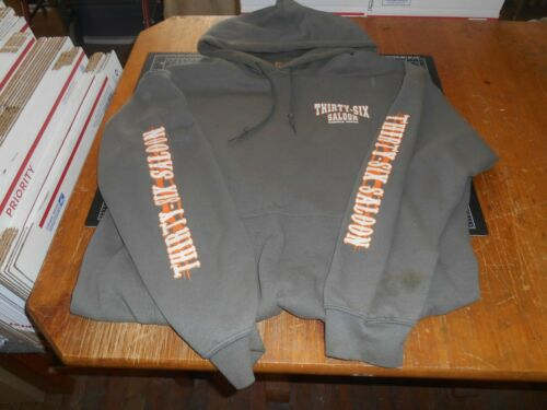 """Vintage Hoodie """"Thirty-Six Saloon"""" From Rockville,"""
