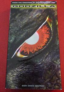 VHS-Movie-Godzilla-1998-Size-Does-Matter