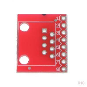 10x-PCB-RJ45-8P8C-to-Screwless-Terminal-Connector-and-Breakout-Board-Kit