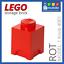gelb NEU grün blau LEGO Aufbewahrungsbox Model 4001 1 Knob storage brick rot