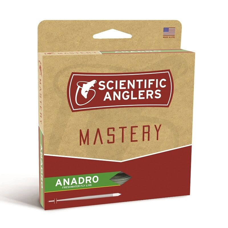 Scientific Anglers Mastery anadro Fly Line-WF7F-New