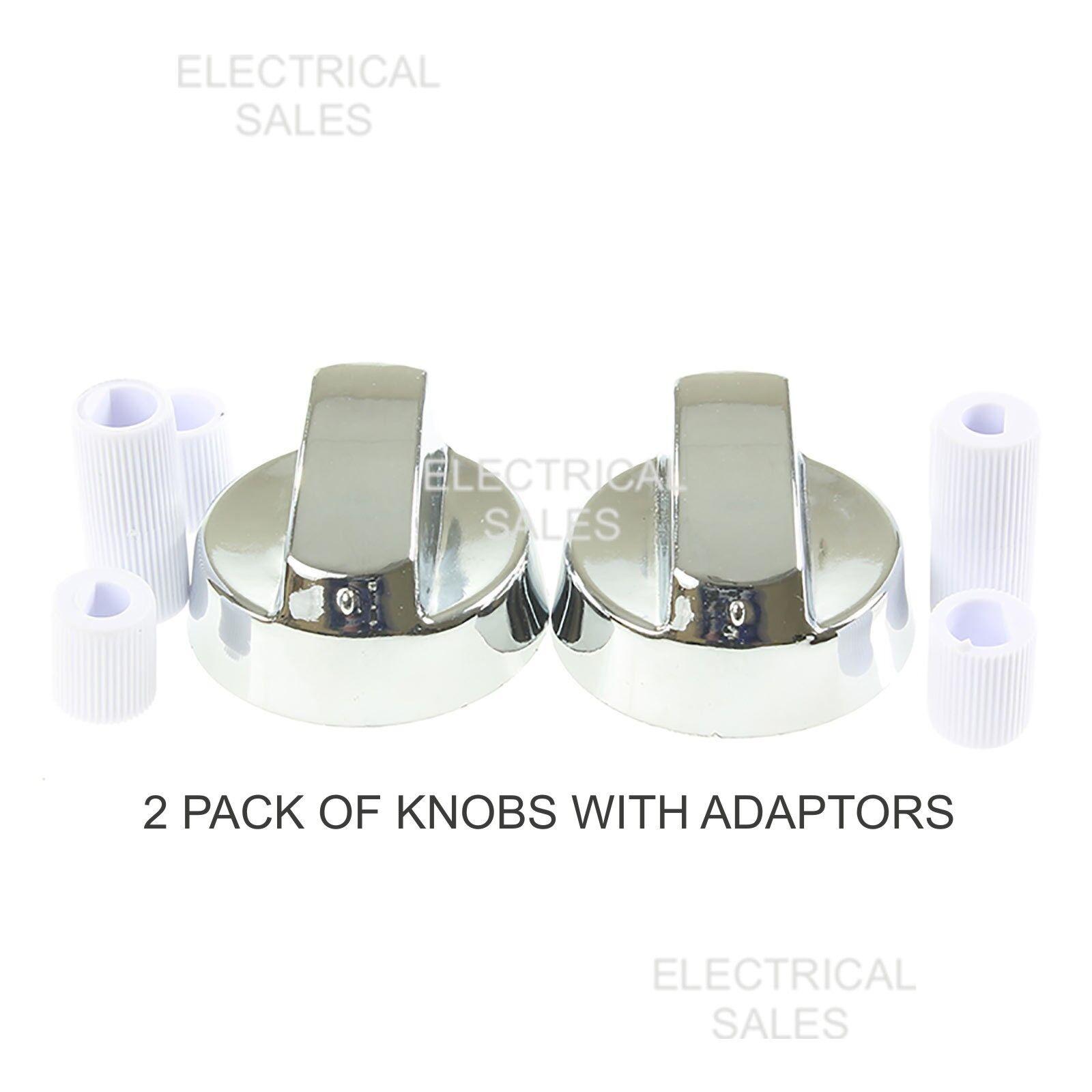 BELLING Genuine Oven Cooker Hob Control Knob 90DF 90EPROF-STA DB4 90DFT x 2