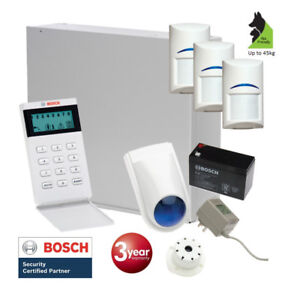 Details about Bosch Solution 2000 Alarm System With 3 X Gen 2 Tritech  Detectors+ Icon Code Pad