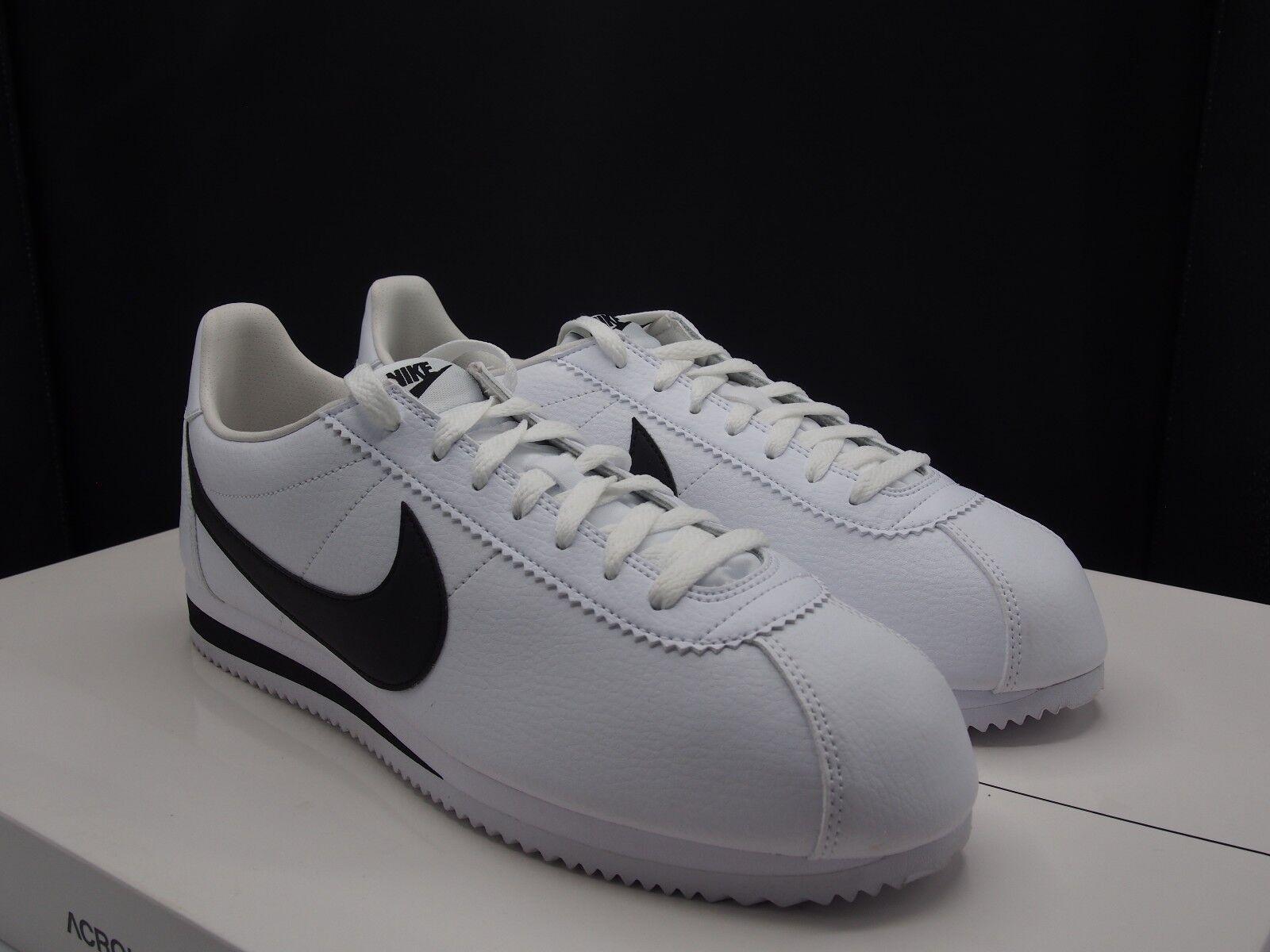 Nike cortez leder  / 749571-100 schwarz 749571-100 / classic ee7b35