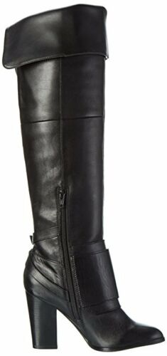 Leather High Rrp 3 Knee Long 36 Black Boots Over Beliarosa Size £177 Aldo Real HqH8XU