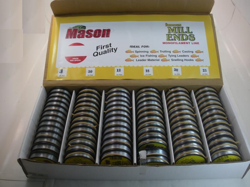 Mason ME-825 Monofilamento Zigrinata Estremità Quadrante Quadrante Quadrante 25858 eff