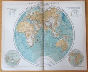 Australia Map Detailed.Details About Detailed Map Of Eastern Hemisphere Asia Australia Africa 1890