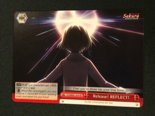 Release REFLECT Weiss Schwarz: Cardcaptor Sakura CSS//WX01-074 CR