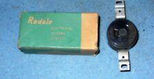 Vintage Rodale Turn-Tyte Single Flush Receptacle 10 AMP - 2 Wire Cat. NO. 1020