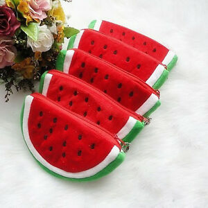 1-PC-Girls-Watermelon-Portable-Zipper-Coin-Purse-Lovely-Wallets-Great-Gift-SOL