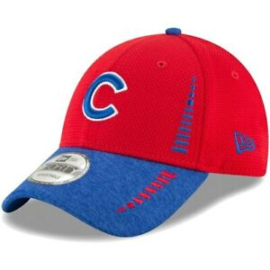 New-Era-Chicago-Cubs-Red-Heathered-Royal-Speed-Tech-9FORTY-Adjustable-Hat