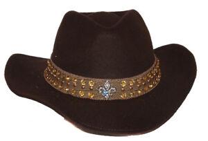 Peter-Grimm-039-s-Floyd-Wool-Feel-Safari-Cowboy-Hat-Brown