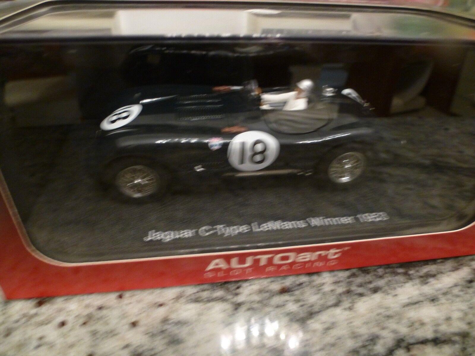 AUTOART JAGUAR C TYPE ;LE MANS WINNER 1953