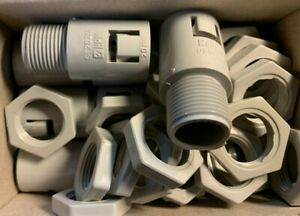20-X-HPM-ST2020GR-20mm-Corrugated-Conduit-Fittings-with-lock-nuts