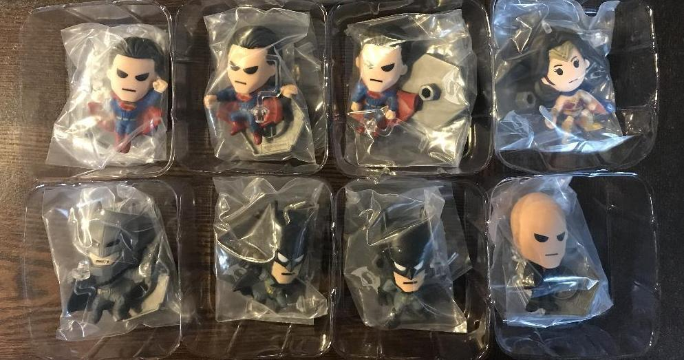 DC COMICS BATMAN V SUPERMAN DAWN OF JUSTICE SERIES 1 ONE ORIGINAL MINIS FIGURE