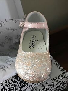huge selection of 52576 96381 Image is loading BABY-TODDLER-GIRL-SPARKLY-GLITTER-SPANISH-PARTY-WEDDING-