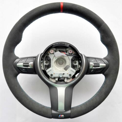 bmw m performance steering wheel alcantara carbon cover. Black Bedroom Furniture Sets. Home Design Ideas