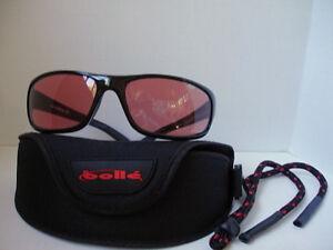 ceed1927db Image is loading RARE-Bolle-Anaconda-Shiny-Black-MODULATOR-ROSE-Sunglasses-