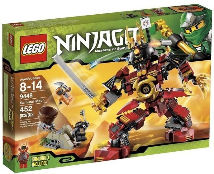 LEGO Ninjago Samurai Mech Set  9448