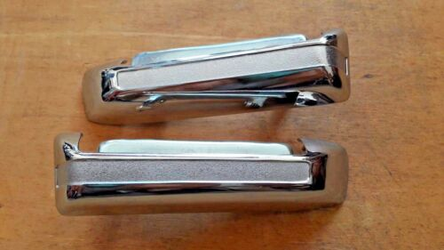 FIT FOR TOYOTA PICKUP HILUX OUTER OUTSIDE DOOR HANDLE CHROME 1979-83 A PAIR ZINC