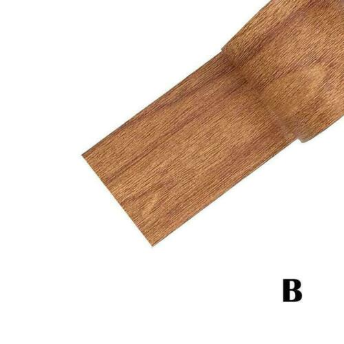5,7 cm 4,57 mt Vintage Holzmaserung Reparatur Klebeband DIY für Möbel Z1B4