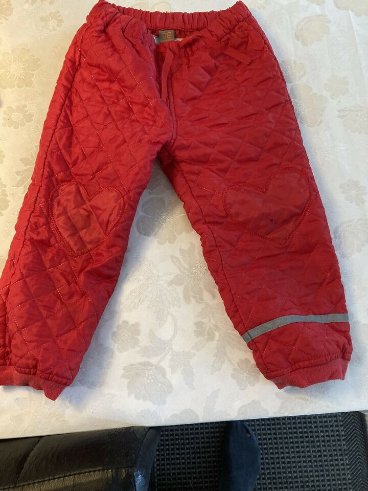 Termotøj, Termo jakke+bukser, CareTec
