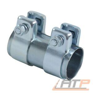 5 Stück Rohrverbinder Doppelschelle Auspuff Abgasanlage Ø 36 mm x Länge 90 mm